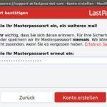 lastpass firefox masterpasswort