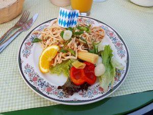 Ein bayerischer Wurstsalat